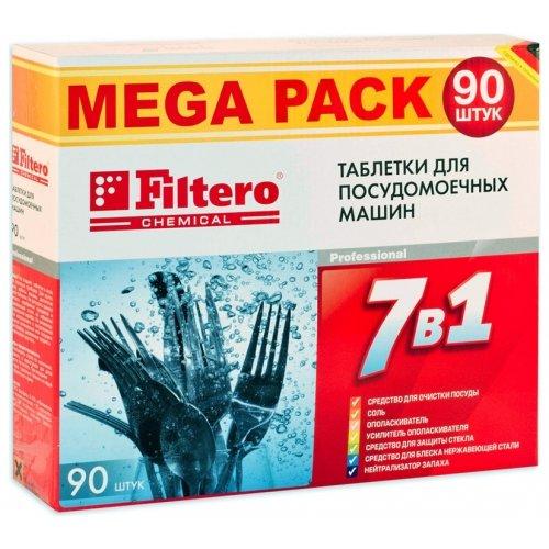 Средство для посудомоечных машин Filtero 703 таблетки 7 в 1 90 шт