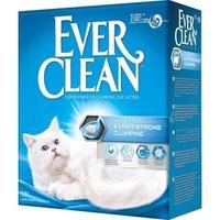Наполнитель Ever Clean Extra Strong Clumpin Unscented экстра контроль запаха комкующийся без ароматизатора для кошек 10л