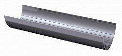 Желоб водосточный Технониколь D-125, Серый, 3м