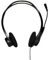 Проводные наушники с микрофоном Logitech Headset 960 981-000100 (Black) - фото 1