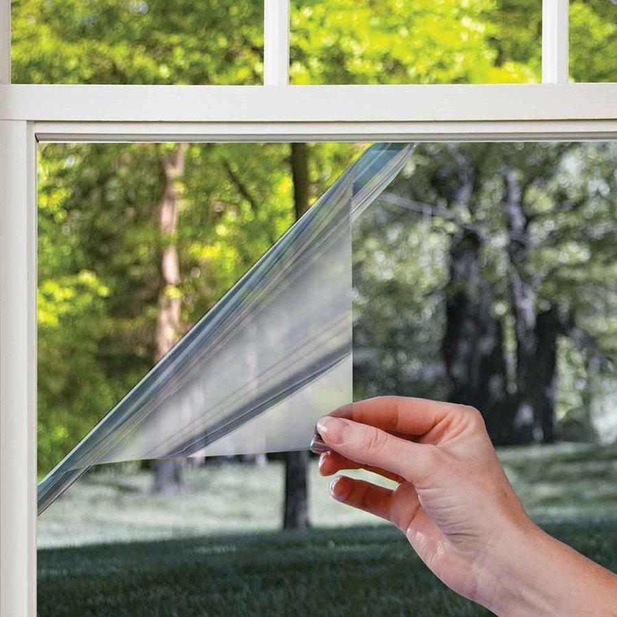 Пленка солнцезащитная зеркальная для окон - 60x300 см