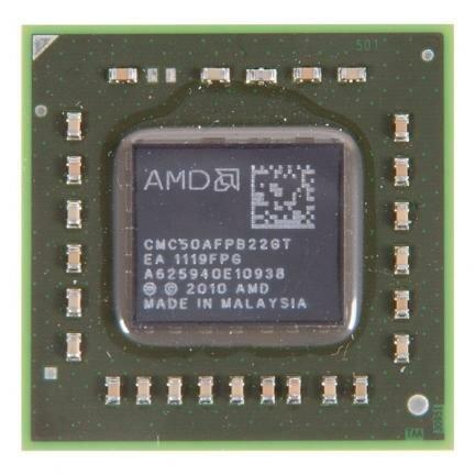 процессор для ноутбука AMD C-Series C-50 BGA413 (FT1) 1.0 ГГц, CMC50AFPB22GT