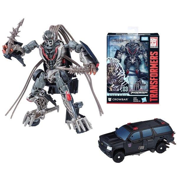 Игрушечные роботы и трансформеры Hasbro Transformers E0701/E0741 Трансформеры Краубар 20 см