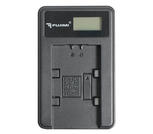 Зарядное устройство Fujimi с USB-адаптером для Canon LP-E6 (FJ-UNC-LPE6)