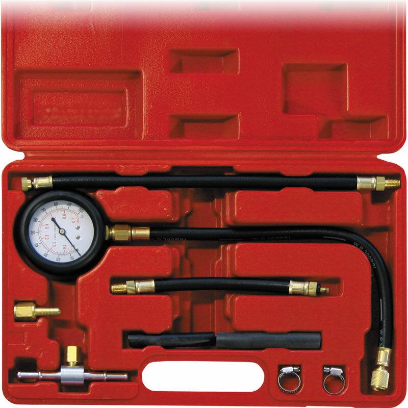 Оборудование для автосервисов Сорокин Набор для тестирования давления впрыска бензинового двигателя