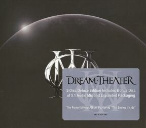 Dream Theater - Dream Theater/ CD+DVD-Audio [ Limited Deluxe Edition] [ Digipack/ 27-page Affixed Booklet/DVD-A with 5.1 audio mix & MLP stereo mix] ( Original, 1st Edition 2013)
