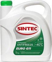антифриз sintec euro зеленый g-11 5кг