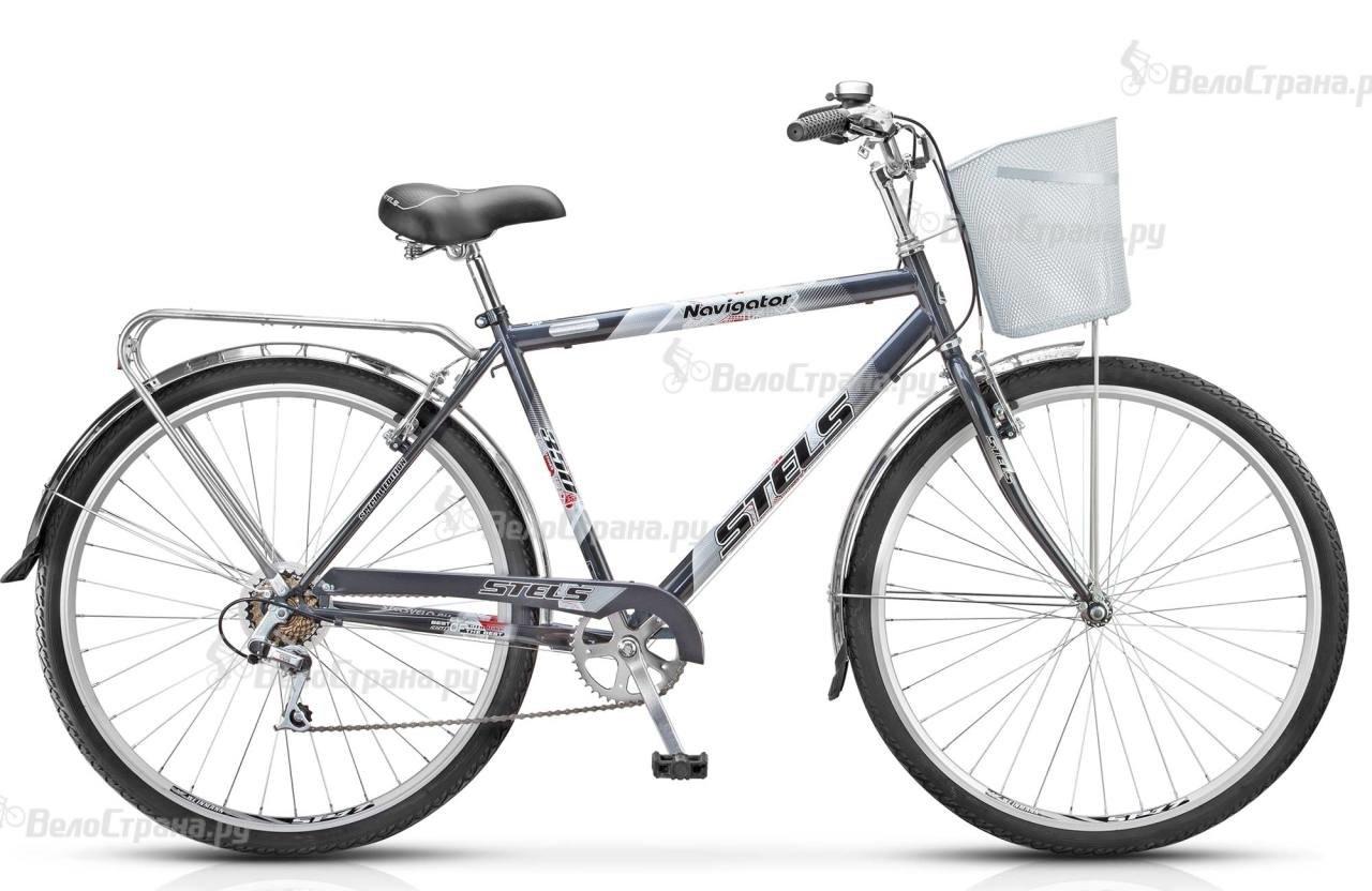 Велосипед Stels Navigator 350 Gent Z010 (2018) Синий 20 ростовка