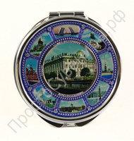 Зеркальце с видами 7,5см Санкт-Петербурга