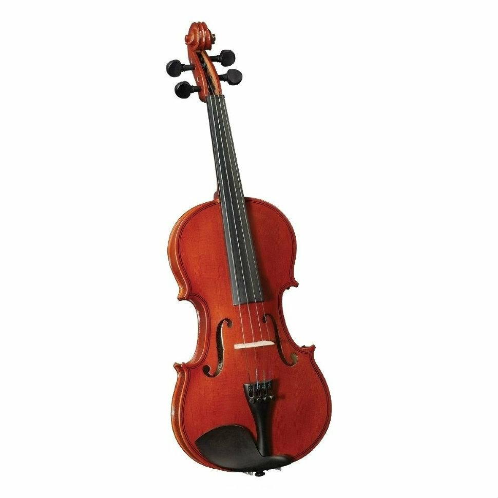 Скрипка CREMONA HV-150 Novice Violin Outfit 1/4 в комплекте легкий кофр, смычок и канифоль