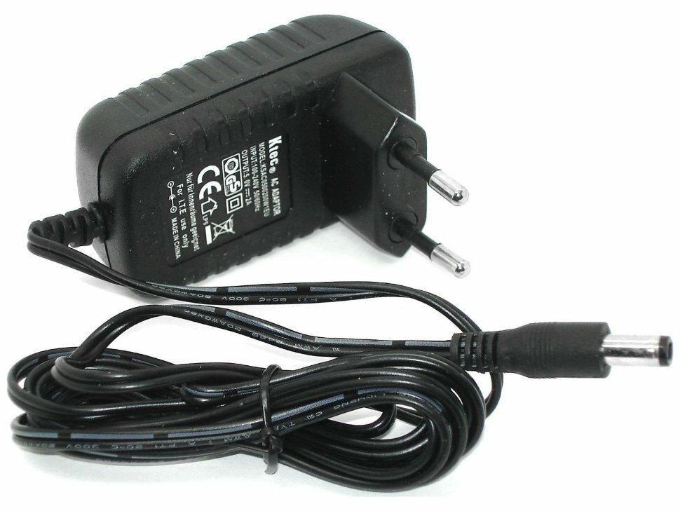 Блок питания для ТВ приставки Ростелеком интерактивное TV 2.0 c Wi-Fi 12V