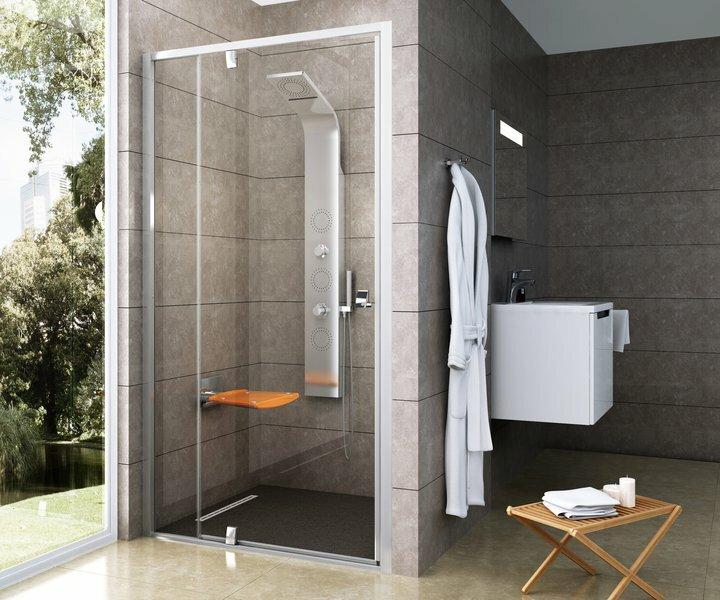Стеклянная душевая дверь Ravak Pivot PDOP2 100 x 190 100 / 190 см