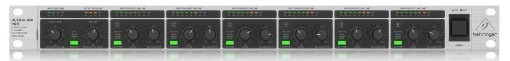 Behringer MX882 V2 8-канальный сплиттер/ микшер/ согласователь уровня