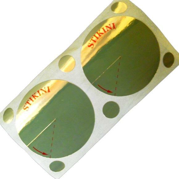 Стикини для загара в солярии диаметр 50мм. 100 пар
