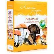 Грибы сушеные лесные угодья Ассорти с белыми грибами 45г