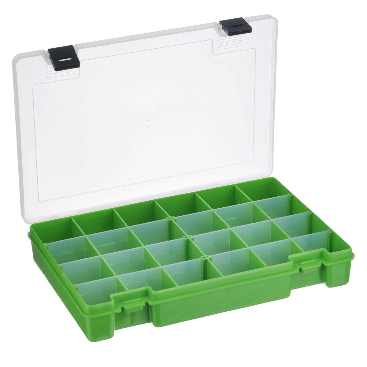 """Коробка для мелочей """"Тривол"""", 27,5x18,8x4,5 см, цвет: салатовый, арт. №7"""