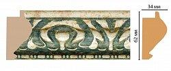 Декоративный багет для стен Декомастер Ренессанс 829-935
