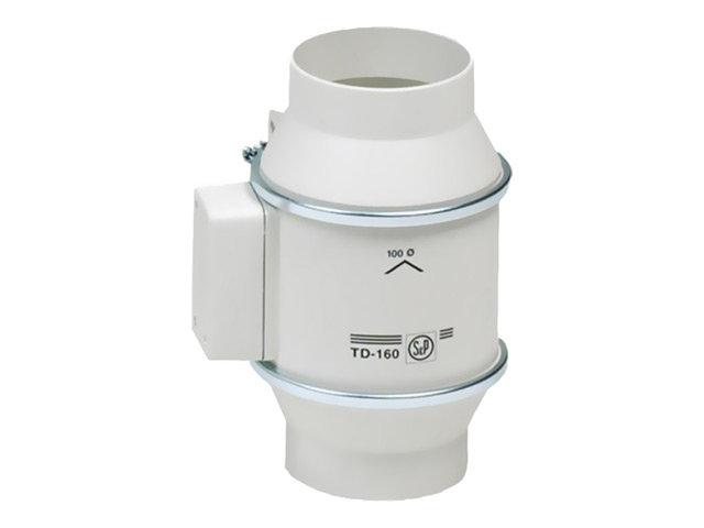 вентилятор s&p silent td 160/100n канальный