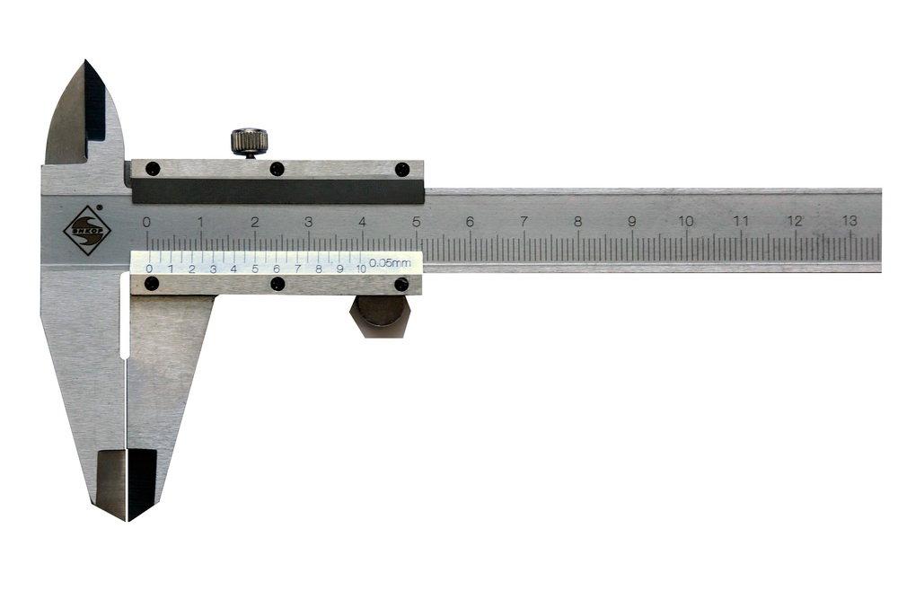 Штангенциркуль с глубинометром Энкор 0-150 мм/0,05 мм 10745