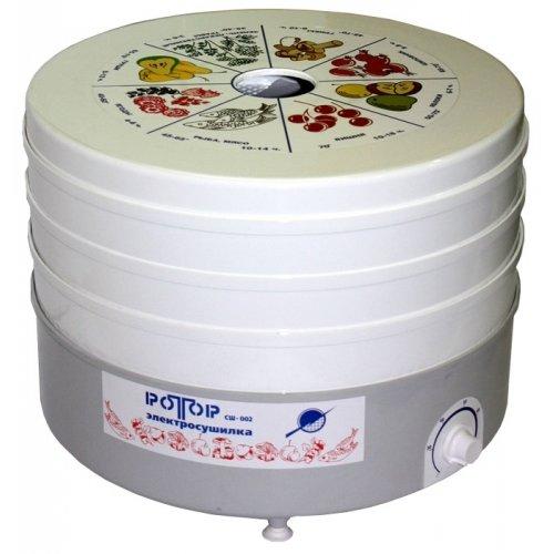 Сушилка для овощей и фруктов Ротор СШ-002-06