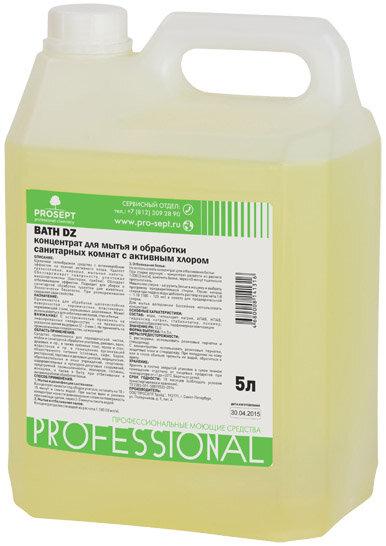 Prosept Bath DZ Средство для уборки и дезинфекции санитарных комнат, концентрат, 5 л