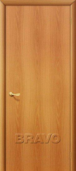 Дверь Браво Ламинированная Гост Миланский Орех межкомнатная