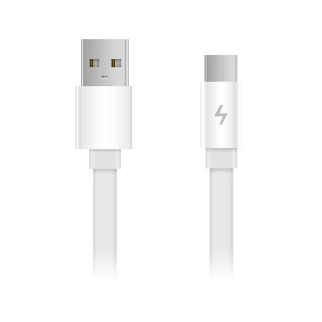 Кабель USB/MicroUSB Xiaomi ZMI micro 100 см AL600 Белый (White)