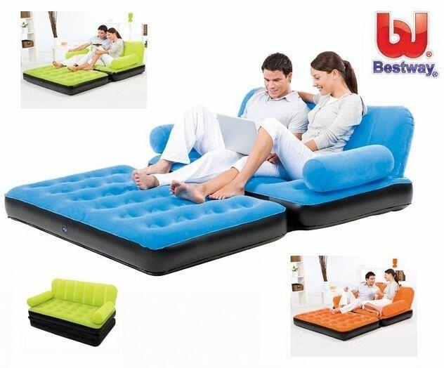Многофункциональный надувной диван трансформер Bestway 67356