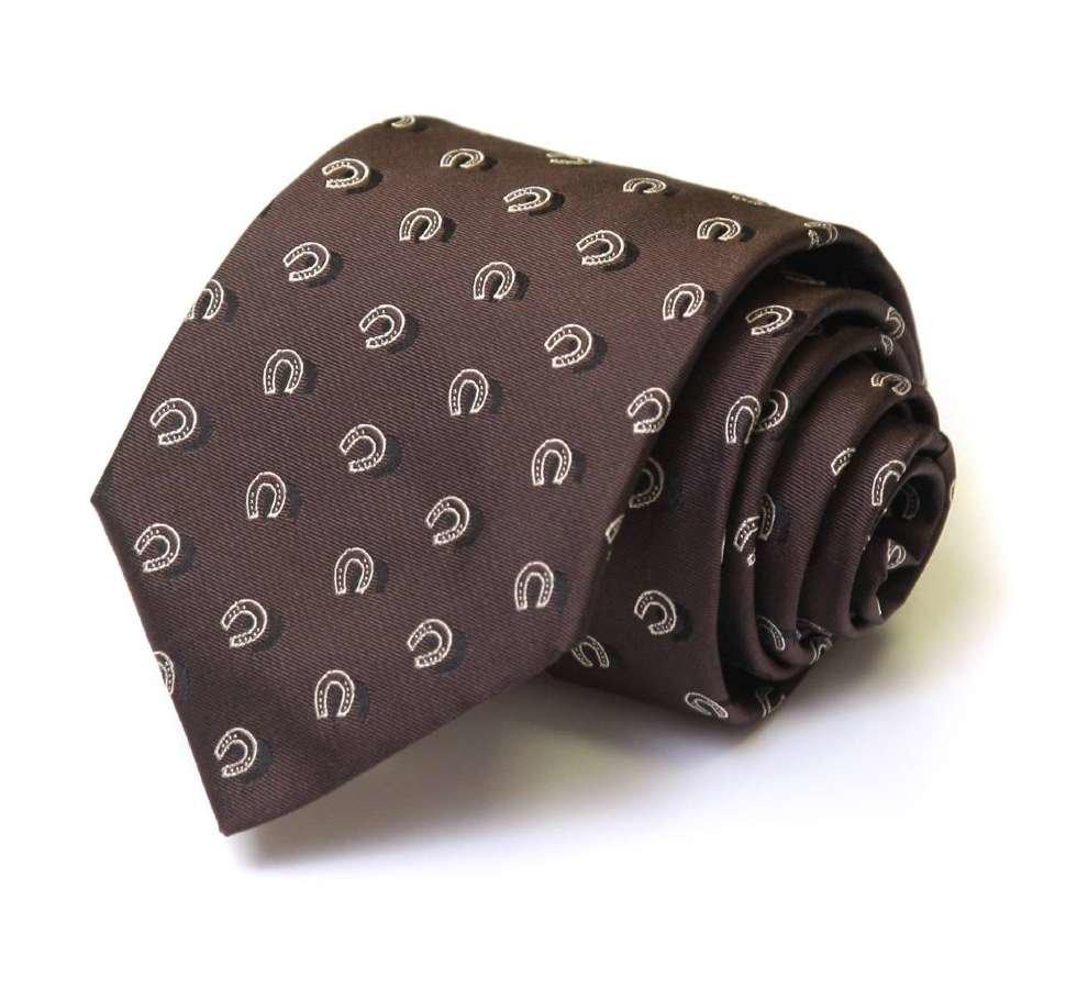 Темный мужской галстук Валентино 29450