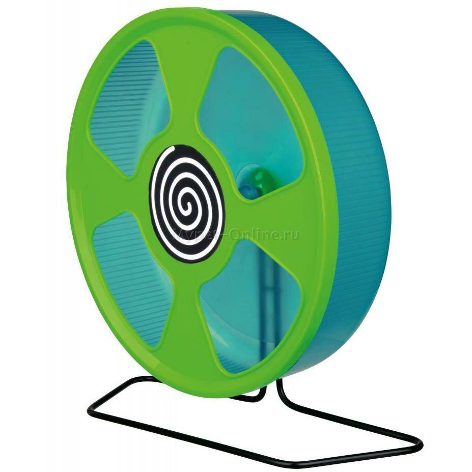 Колесо для грызунов Trixie Exercise Wheel M, размер 28см.