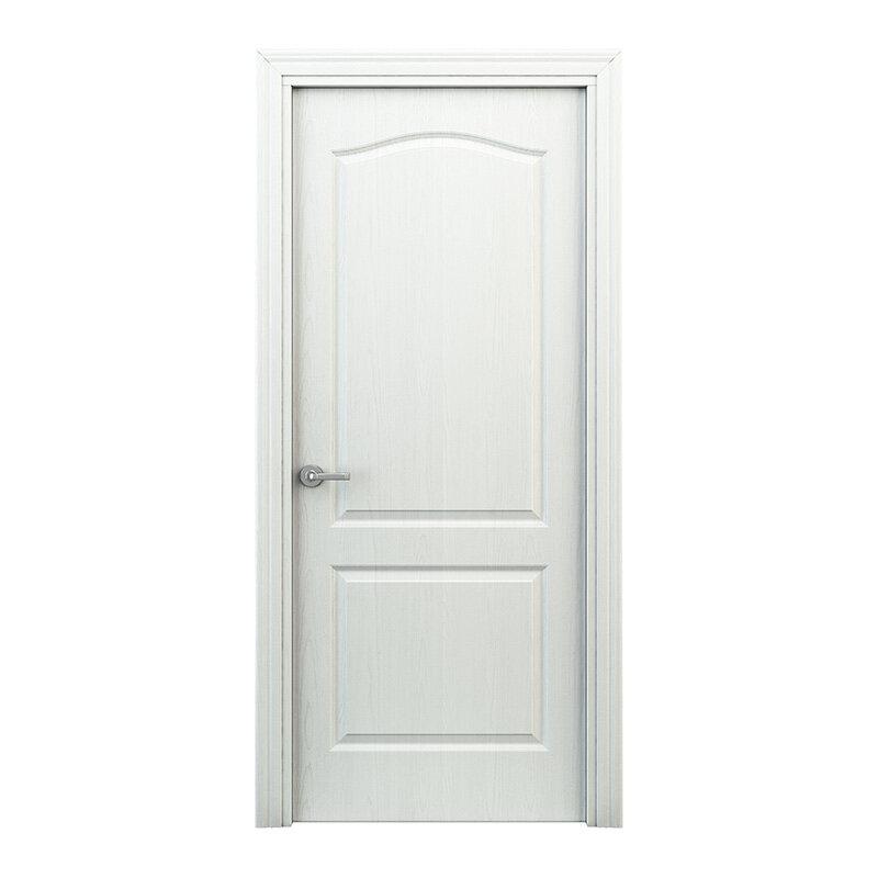 Классик Дверь глухая ламинированная межкомнатная Белая. Арт.ДГЛ02