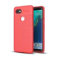 Чехол-накладка Litchi Grain для Google Pixel 2 XL (красный)