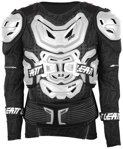 Leatt Body Protector 5.5 моточерепаха, белый / 2XL-3XL