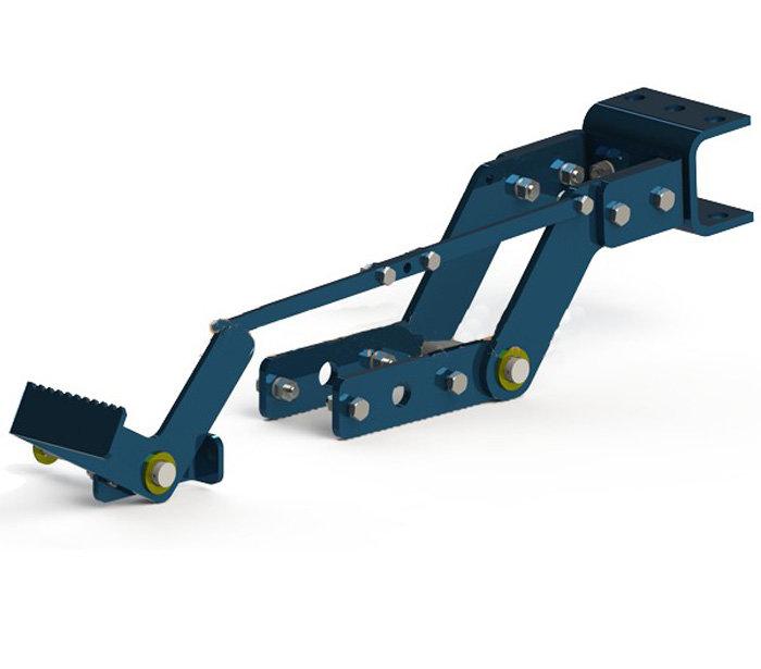 Сцепка для адаптера АПМ Нева (для работы с плугом, окучниками)