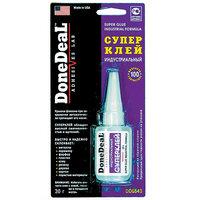 Суперклей индустриальный, не требует обезжиривания поверхностей Done Deal DD6643