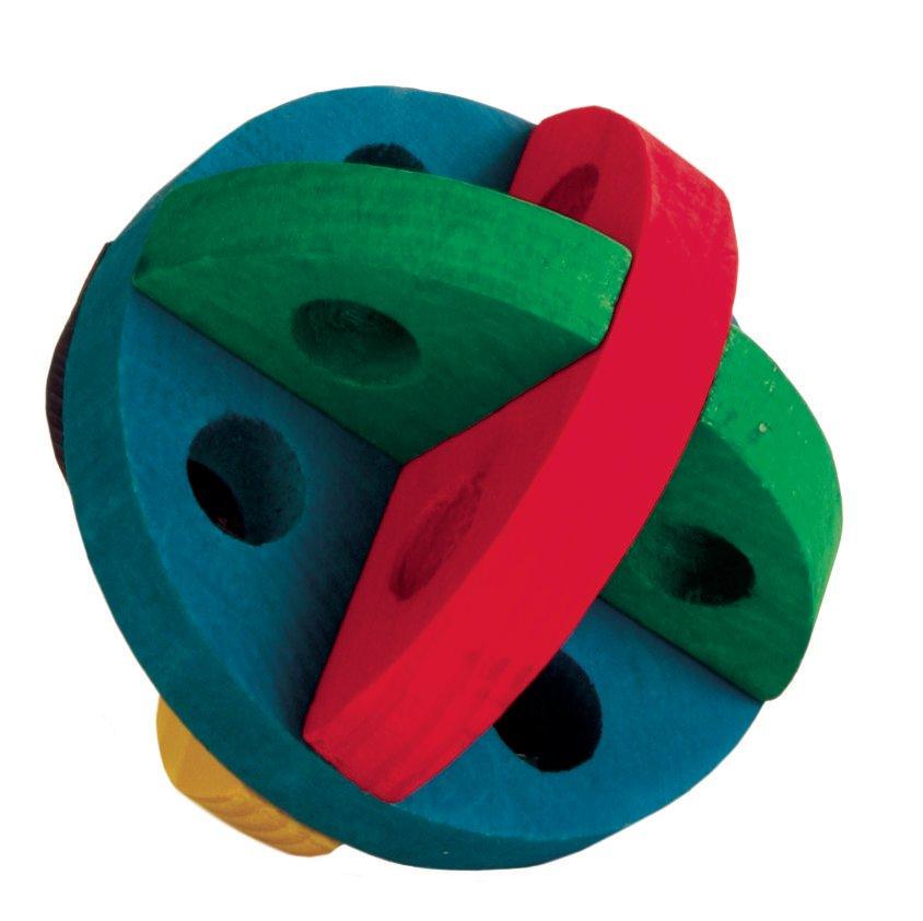Игрушка для грызунов TRIXIE Мяч для лакомств 8,5см