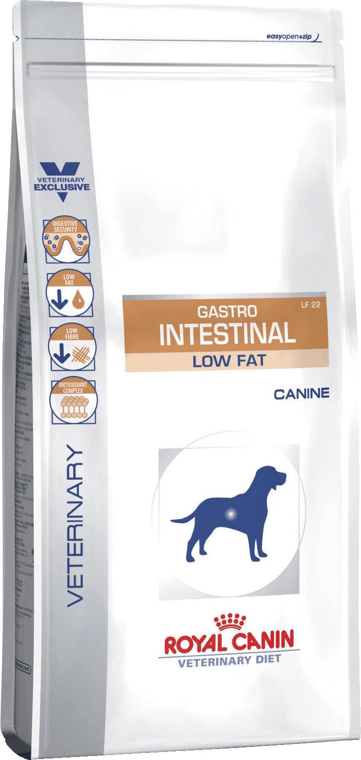 Royal Canin Gastro Intestinal Low Fat LF22 корм для собак при нарушении пищеварения, 1,5 кг