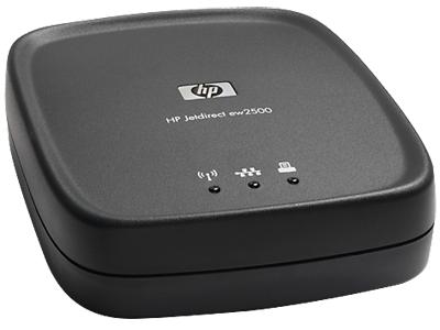 Сервер беспроводной печати HP Jetdirect ew2500 802.11b/g (J8021A)