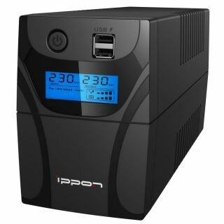 Источник бесперебойного питания Ippon Back Power Pro II 600 черный