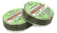 Поводковый материал Mirage в оболочке 25м 20lb зеленый/черный Kosadaka