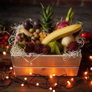 Коробка экзотических фруктов тайский сюрприз