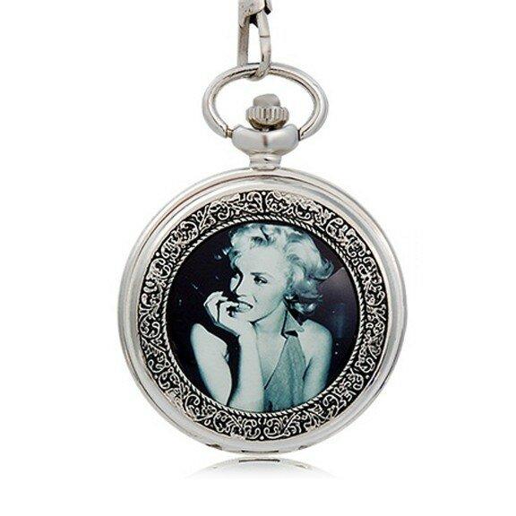 Карманные часы с изображением Мерилин Монро