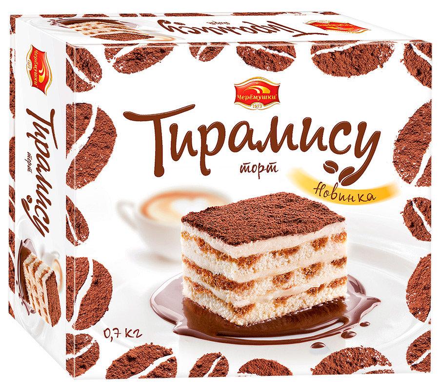 Торт Черемушки Тирамису 700г