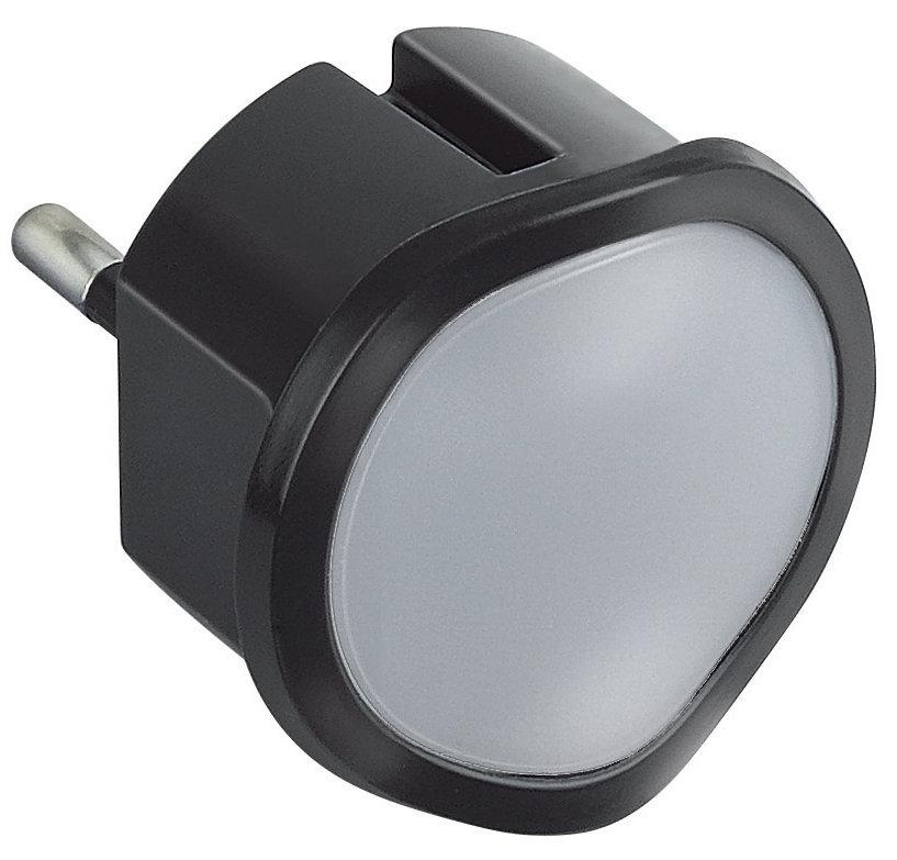 Ночник со светорегулятором, черный - Legrand (арт. 050677)