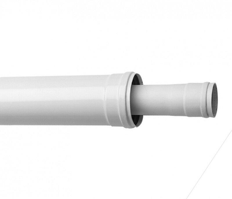 Коаксиальное удлинение Baxi полипропиленовое диам. 80/125 мм, длина 500 мм, HT
