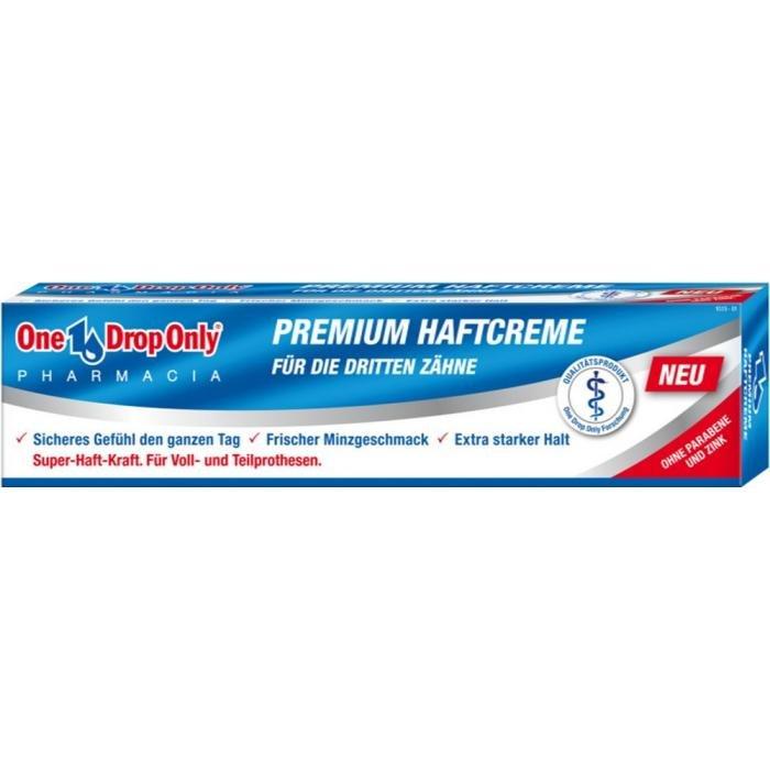 One Drop Only PREMIUM HAFTCREME 40 г крем для фиксации зубных протезов One Drop Only HAFTCREME