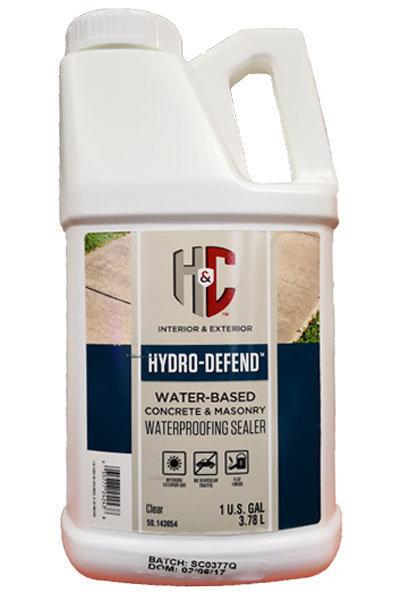 Гидрофобная пропитка H&C Hydro Defend для дерева, кирпича и бетона 3.7 л