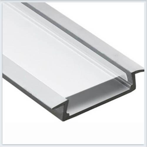 SWG Профиль алюминиевый встраиваемый с бортиками для светодиодной ленты 2м. — 2206