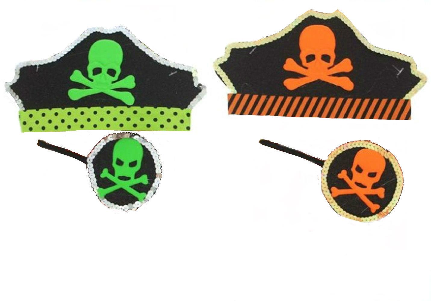 Аксессуар для праздника Сималенд Набор отважная Пиратка, универсальный