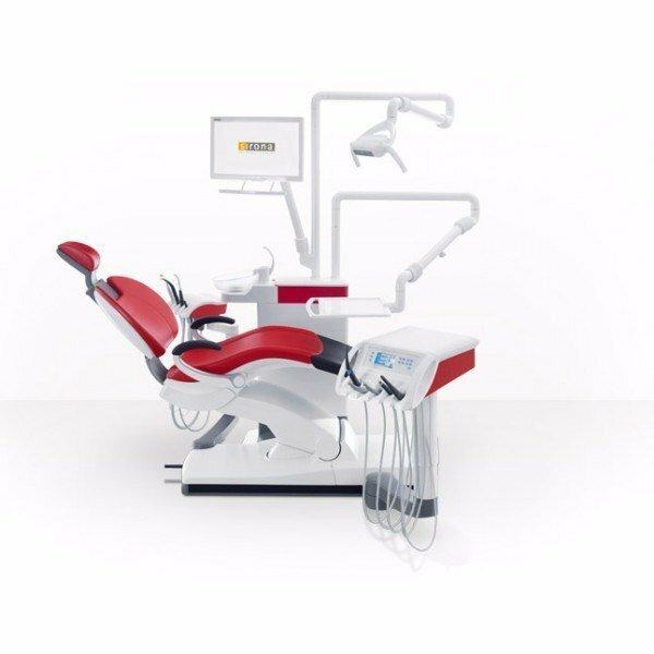 Sirona Sinius - стоматологическая установка с нижней подачей инструментов